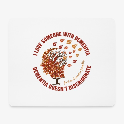 Dementia Doesn't Discriminate - Mouse Pad (horizontal)