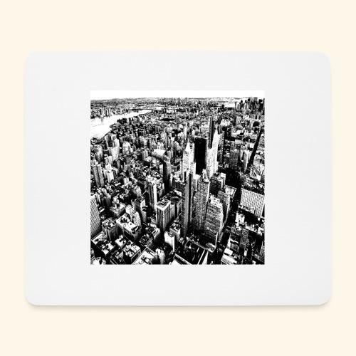 Manhattan in bianco e nero - Tappetino per mouse (orizzontale)