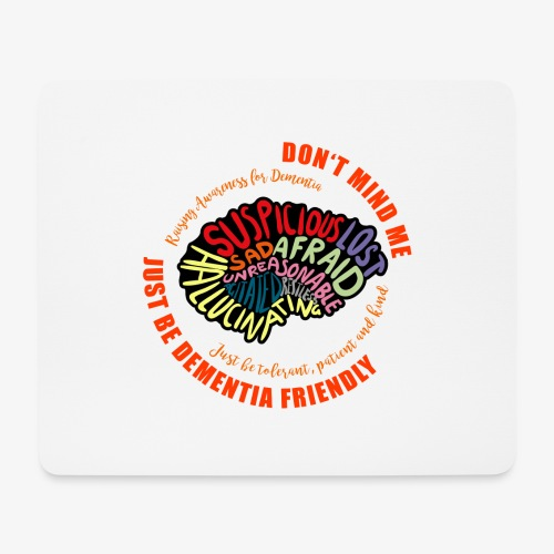 Just Be Dementia Friendly - Mouse Pad (horizontal)