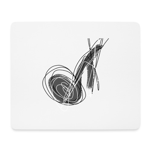 MUSIC NOTE ABSTRACT - Mousepad (Querformat)