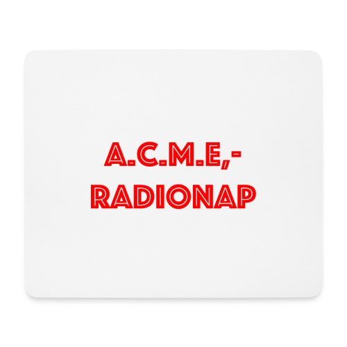 acmeradionaprot - Mousepad (Querformat)