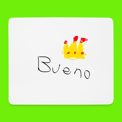 King Bueno Classic Merch - Mouse Pad (horizontal)