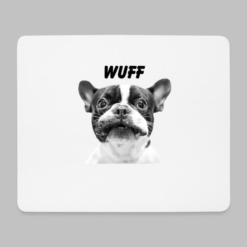 Wuff - Hundeblick - Hundemotiv Hundekopf - Mousepad (Querformat)