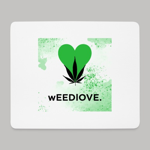 weedlove - Mousepad (Querformat)