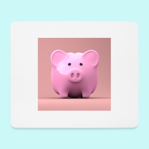 piggy - Mouse Pad (horizontal)