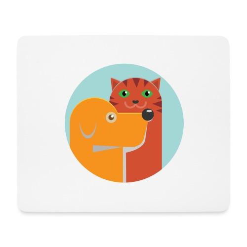 Tierfreund - Mousepad (Querformat)