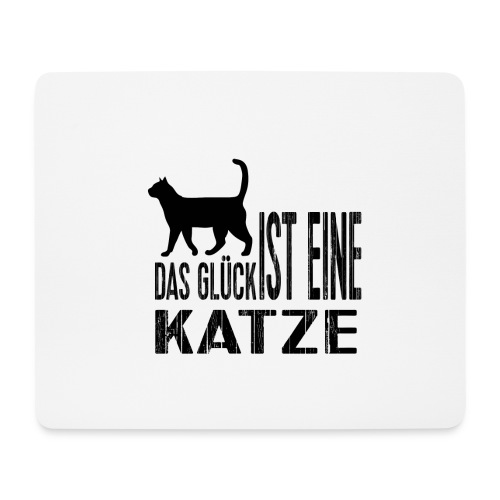 Katze Katzenliebe Cat Katzenglück Geschenkidee - Mousepad (Querformat)