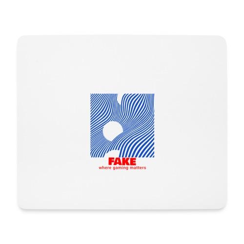 FAKE logo - Musematte (liggende format)