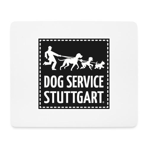 Dog Service Stuttgart schwarz - Mousepad (Querformat)