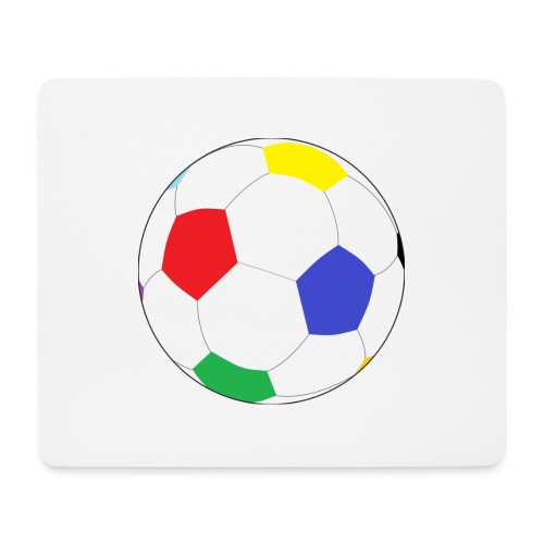 Lesser Spotted Football Logo - Mouse Pad (horizontal)