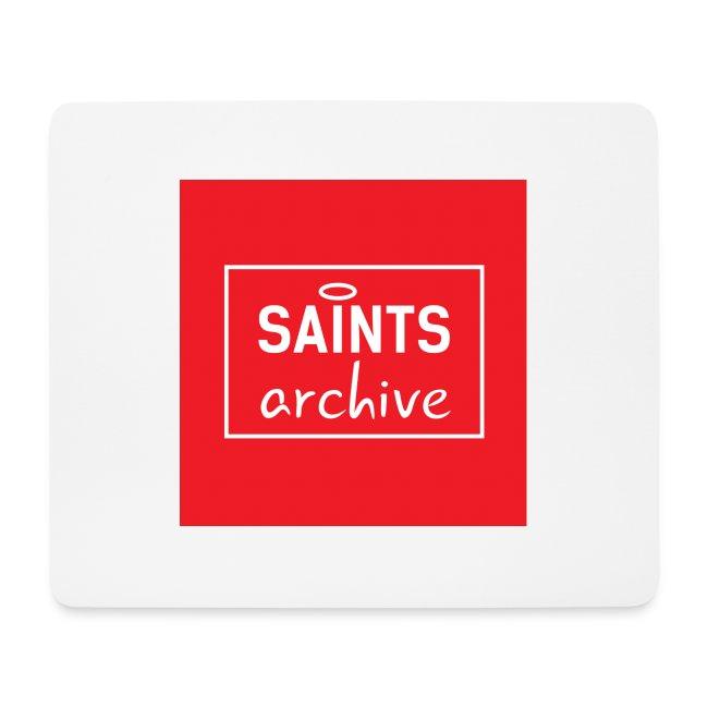 Saints Archive Logo - Red