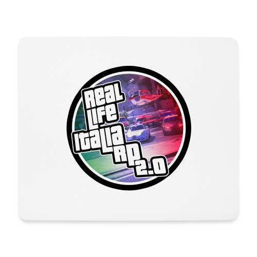 Real Life Italia - Tappetino per mouse (orizzontale)