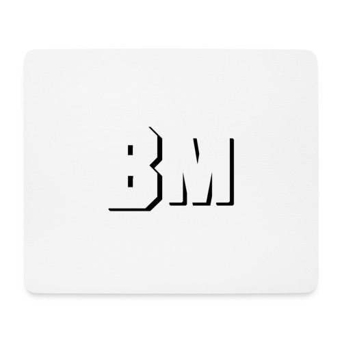 BM Merch - Mousepad (Querformat)