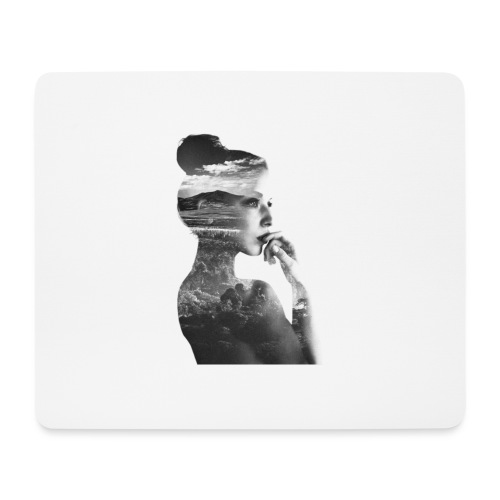 Femme - Tapis de souris (format paysage)