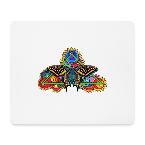 Happy Butterfly! - Mousepad (Querformat)