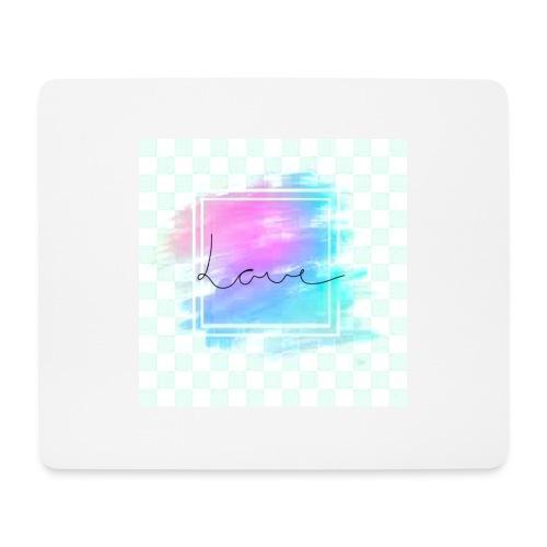 Paint - Love - Mousepad (bredformat)