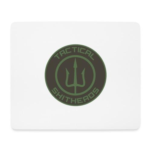Tactical Shitheads Logo - Mousepad (Querformat)