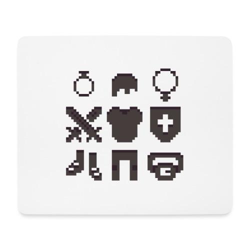 RPG Inventory Slots - Mousepad (bredformat)
