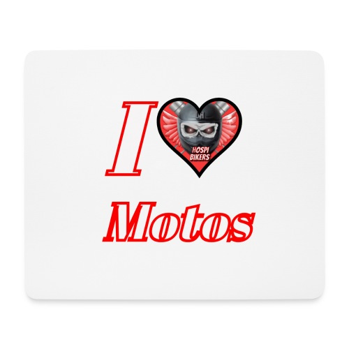 ilovemotos - Alfombrilla de ratón (horizontal)