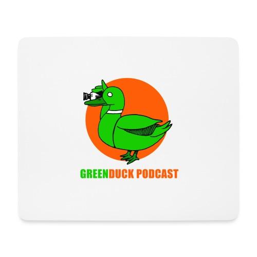 Greenduck Podcast Logo - Mousepad (bredformat)