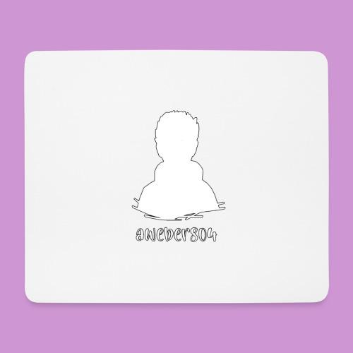 aweber804 |weiß - Mousepad (Querformat)
