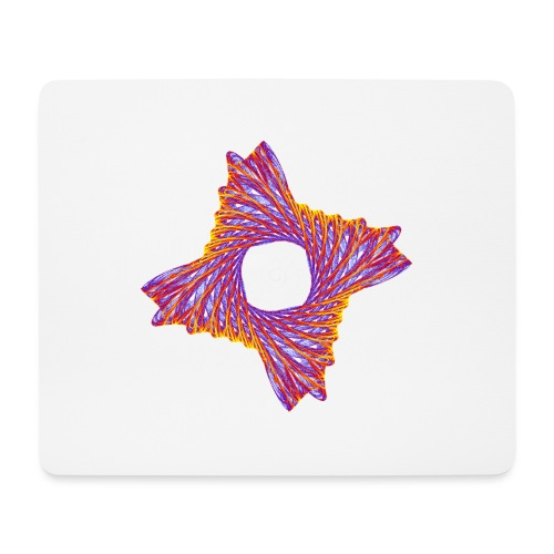 rotierendes Lebensfeuer 12162bry - Mousepad (Querformat)