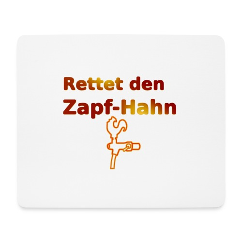 Rettet Zapfahn RG - Mousepad (Querformat)