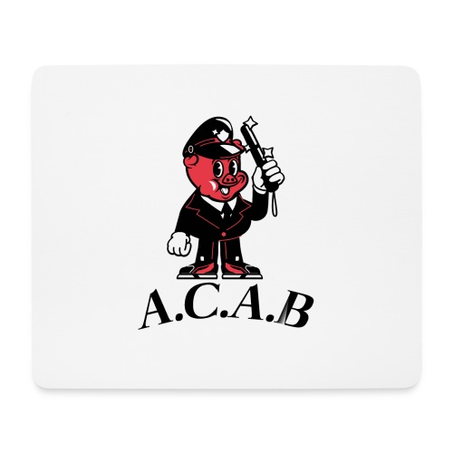 A.C.A.B cochon - Tapis de souris (format paysage)
