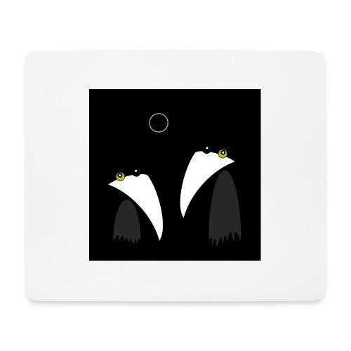 Raving Ravens - lunar eclipse - Tapis de souris (format paysage)