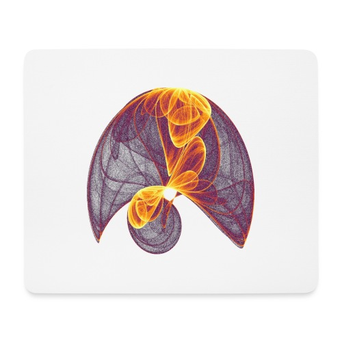 Parachute in the Inferno - Mouse Pad (horizontal)