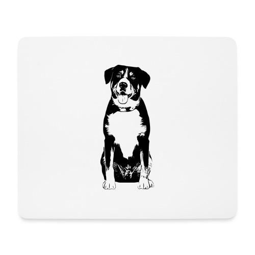 Entlebucher Sennenhund Hunde Design Geschenkidee - Mousepad (Querformat)
