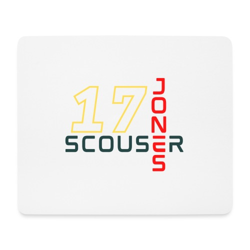 Jones - Scouser in our Team, 17 Collection - Mouse Pad (horizontal)
