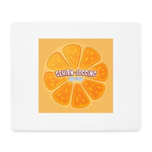 orangetextur - Mousepad (Querformat)