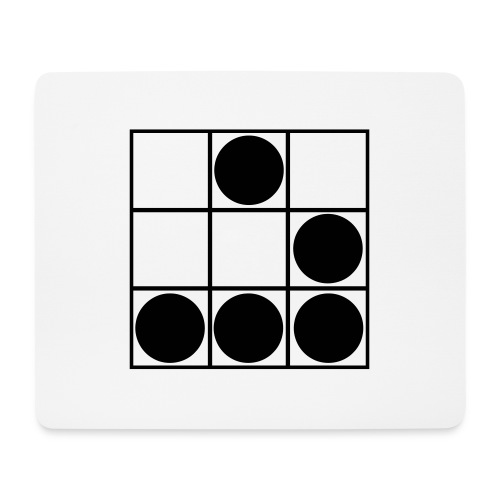 Glider-Badge (small) - Mouse Pad (horizontal)