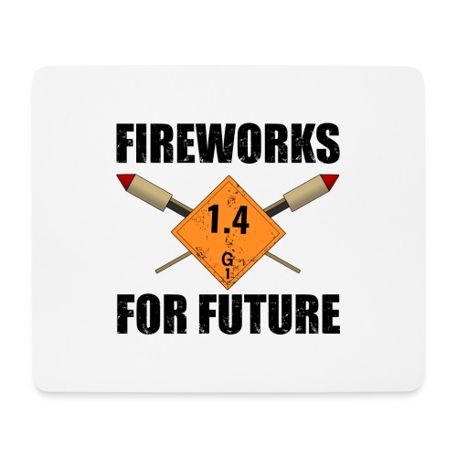 Fireworks for Future Pyro - Mousepad (Querformat)