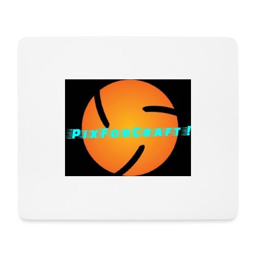 LOGO PixForCraft (Le logo de Juin 2017) - Tapis de souris (format paysage)