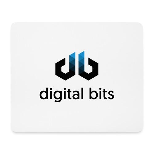digitalbits Logo mit Schriftzug - Mousepad (Querformat)