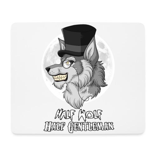 Half Wolf Half Gentleman - Mouse Pad (horizontal)