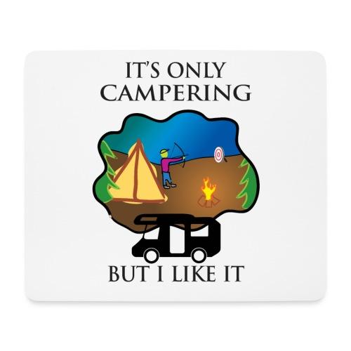 To tylko campering, ale to lubię - Podkładka pod myszkę (orientacja pozioma)