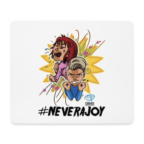 #neverajoy - Tappetino per mouse (orizzontale)