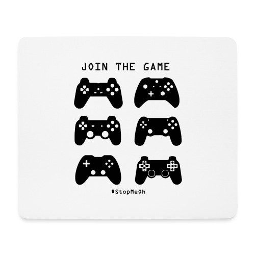 Join The Game - Mouse Pad (horizontal)