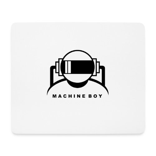 Machine Boy White - Mouse Pad (horizontal)