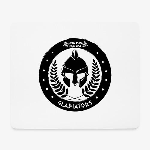 Gym Pur Gladiators Logo - Mouse Pad (horizontal)