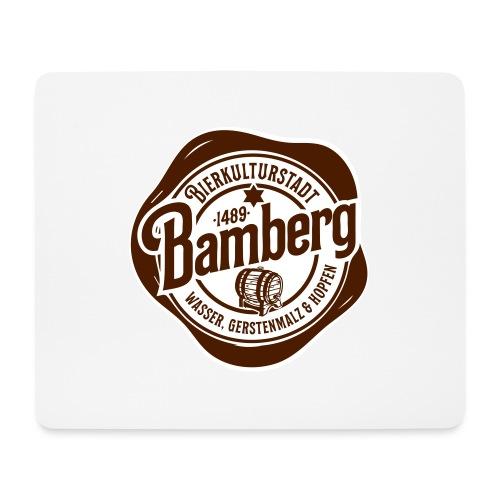 Bierkulturstadt Bamberg - Mousepad (Querformat)