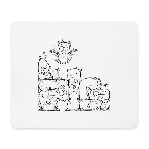 hamstris - Mousepad (Querformat)