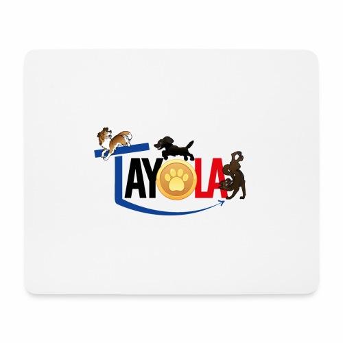 TAYOLA logo 2019 HD - Tapis de souris (format paysage)