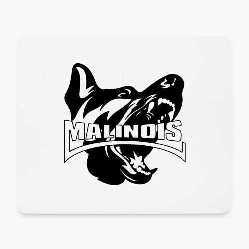 malinois - Tapis de souris (format paysage)