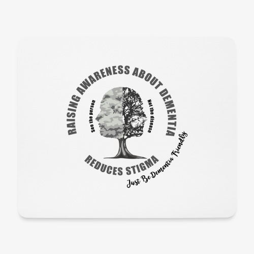 Reducing the Stigma of Dementia - Mouse Pad (horizontal)