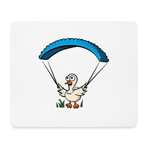 Groundhendl Groundhandling Hendl Paragliding Huhn - Mousepad (Querformat)