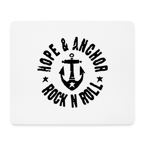 Hope & Anchor - Rock´n´Roll - Mousepad (Querformat)